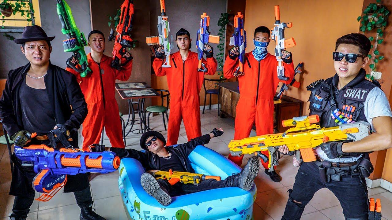 LTT Nerf War : The Expendables SEAL X Warriors Nerf Guns Fight Dr Ken Crazy Disregard The Law