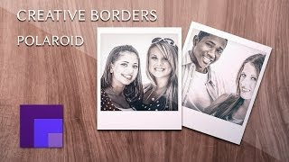Create a Polaroid Photo Gallery Template Using Smart Objects | Creative Borders in Photoshop