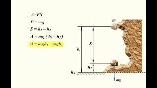 1.3.3 Потенциальная энергия. Работа силы тяжести