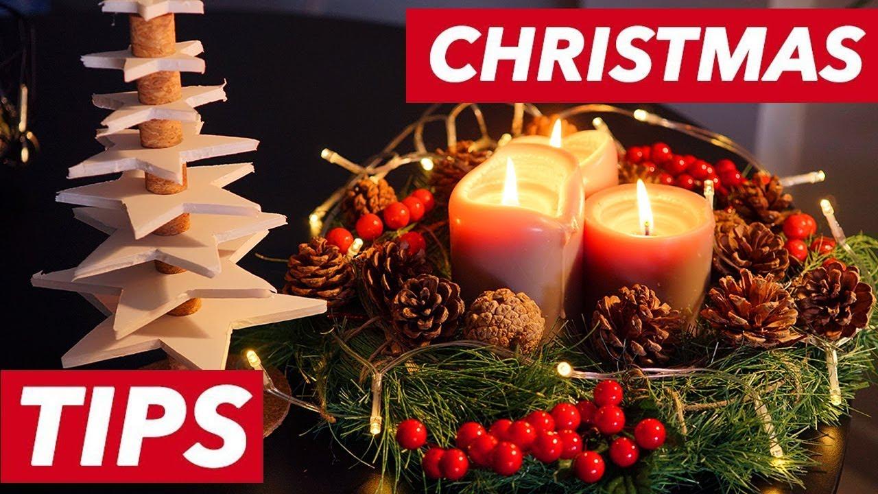 decorazioni natalizie fai da te 3 idee facilissime per