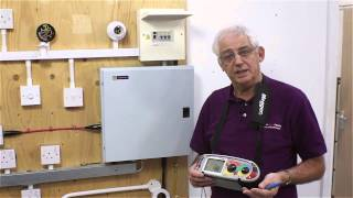 QR code 11 -- Earth fault loop impedence test on a lighting circuit (Zs)