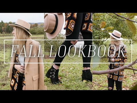 FALL LOOKBOOK 2016 | Outfit Ideas for Fall & CONTEST! - Michelle Rose Beaulieu