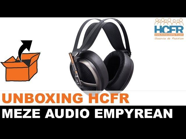 Unboxing Meze Audio Empyrean Casque Hifi Youtube
