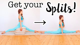 Get The Splits Fast! Stretches For Splits Flexibility
