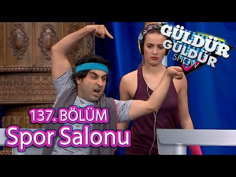 BKM Güldür Güldür Show 137. Bölüm, Spor Salonu