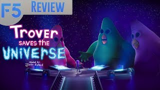 Trover Saves the Universe Review: A Black Hole of Humor (Video Game Video Review)