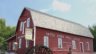 Yates Cider Mill, Clinton River, Kalamazoo Canal, McComb County Michigan, Rochester Hills
