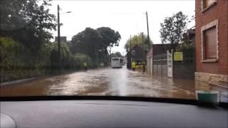 Inondation a Wavrechain-sous-fault le 07/06/16