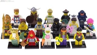 LEGO Series 7 Collectible Minifigs from 2012 reviewed!