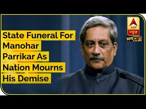 State Funeral For Manohar Parrikar As The Nation Mourns His Demise | ABP Uncut | ABP News