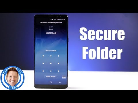 Secure Folder For Galaxy Note 8, S8, S8 Plus