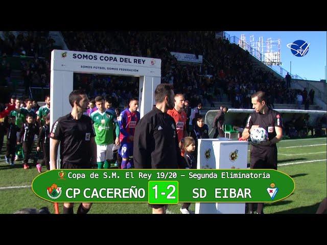 Copa del Rey 19/20. 2ª Eliminatoria: CP Cacereño - SD Eibar