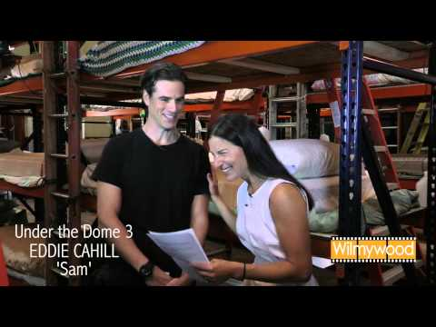 EDDIE CAHILL goes Under the Dome for Season 3