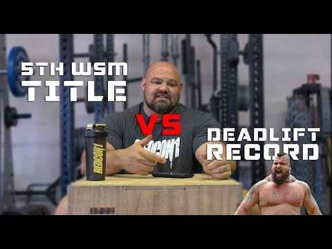 5TH WSM TITLE VS DEADLIFT WORLD RECORD | QUESTION AND ANSWER | BRIAN SHAW