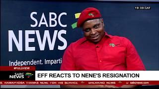 EFF reacts to the Nene, Mboweni shuffle: Floyd Shivambu