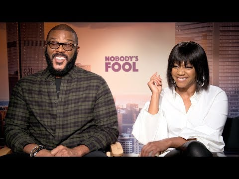 NOBODY'S FOOL Tyler Perry & Tiffany Haddish Talk Creating His First 'R' Rated Comedy