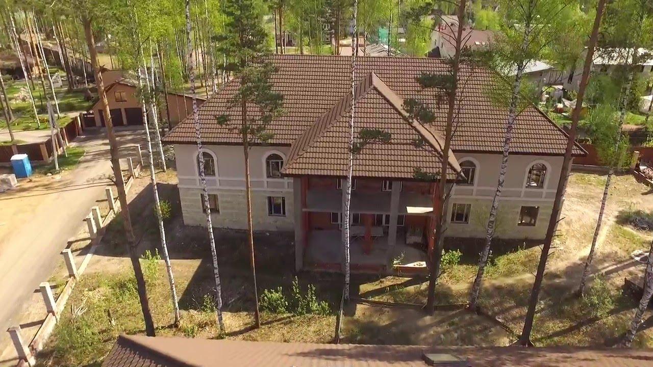 Элитный коттеджный посёлок в 50 км от Санкт-Петербурга - YouTube