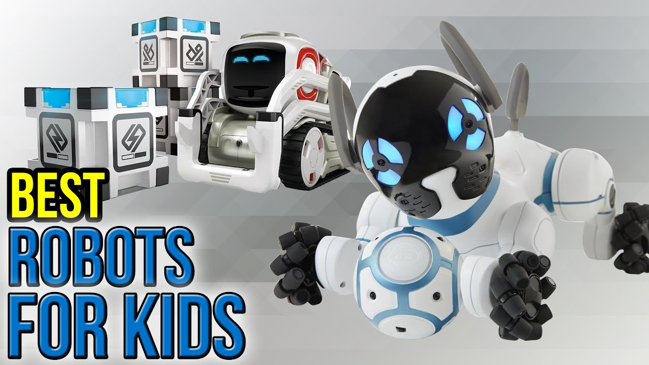 10 Best Robots For Kids 2017