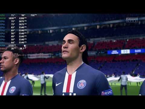 AMD Ryzen 5 3500U Vega 8 Review - FIFA 20 - Gameplay Benchmark Test