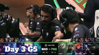 MAD vs PNG - Day 3 LoL MSI 2021 Group Stage | Mad Lions vs Pain Gaming full game