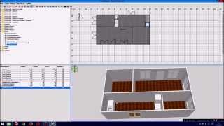 как построить дом в Sweet Home 3D