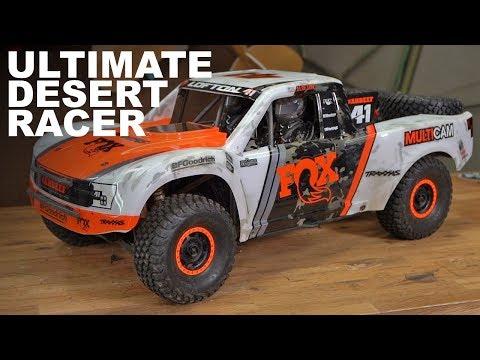 Traxxas Unlimited Desert Racer  MIND BLOWN