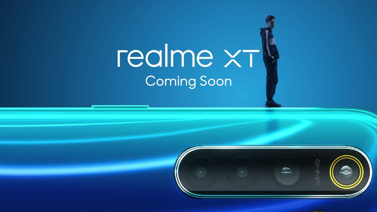 Realme XT Smartphone With 64MP Camera To Launch in India on
