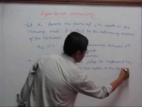 Video5 Eigenvector Centrality and Page Rank