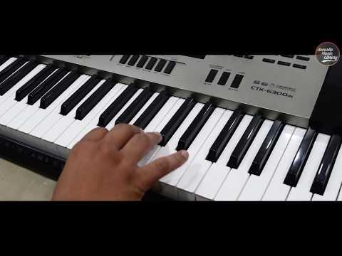 Navratri Garba Music | With Easy Tutorial | On Keyboard thumbnail