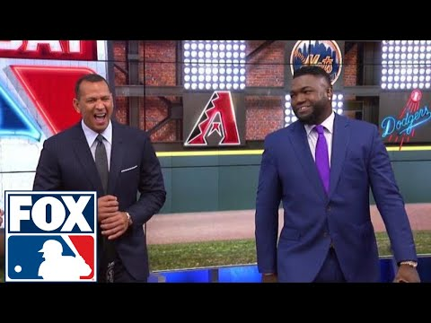 David Ortiz teaches A-Rod about what made him such a great hitter   FOX SPORTS