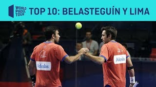 El Top 10 de Fernando Belasteguín y Pablo Lima | World Padel Tour