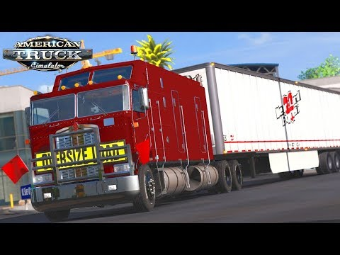 American Truck Simulator - Kenworth K100 Extreme Long Frame (Mega ...
