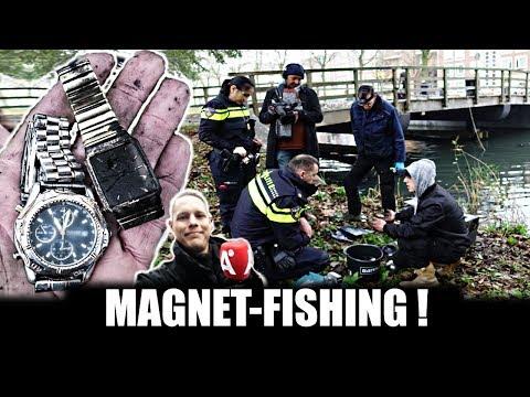 YES!! EINDELIJK EEN VOLLE KLUIS - MET DE MALSE MANNEN MAGNEETVISSEN