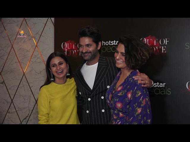 Rasika Dugal & Purab Kohli At The Special Screening Of Web Show Out of Love 2