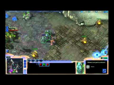 StarCraft 2: Live Stream - CombatEX [P], Deezer [Z] - 2v2 Game 9