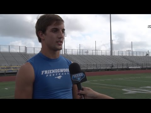 """Cavenders """"Player of the Week': Friendswood Tyler Page"""
