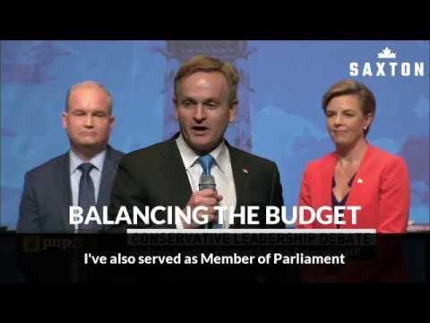 ANDREW SAXTON on Balancing the Budget