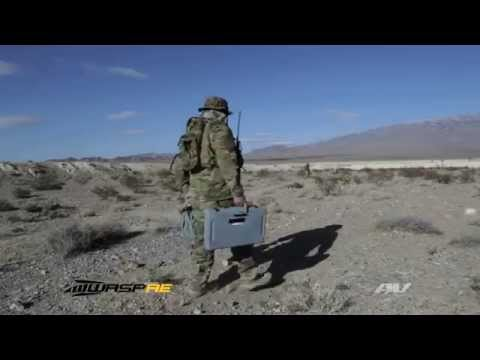 AeroVironment's RQ-12 Wasp AE small unmanned aircraft systems (UAS)