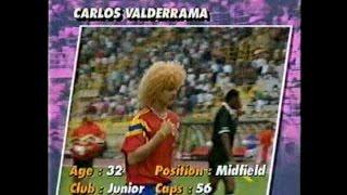 優勝候補 コロンビア '94W杯