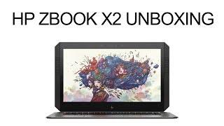 HP ZBook x2 Unboxing