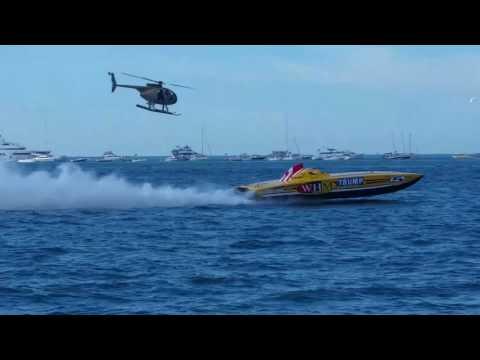 Key West Florida Friday 11th power boat racing