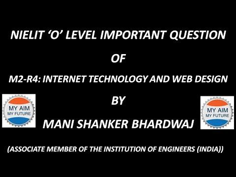 Internet Technology and Web desígn Questíon Seríes 22-45