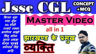 Master video of झारखण्ड के प्रमुख व्यक्ति| झारखण्ड के चर्चित  व्यक्ति |JHARKHAND KE PRAMUKH HASTIYAN
