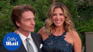 Daisy Fuentes and husband Richard Marx on the red carpet - Daily Mail