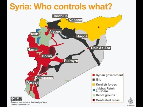 Syrian War Explained in Details | Complete Syria War Simple Explanation 2016 Full