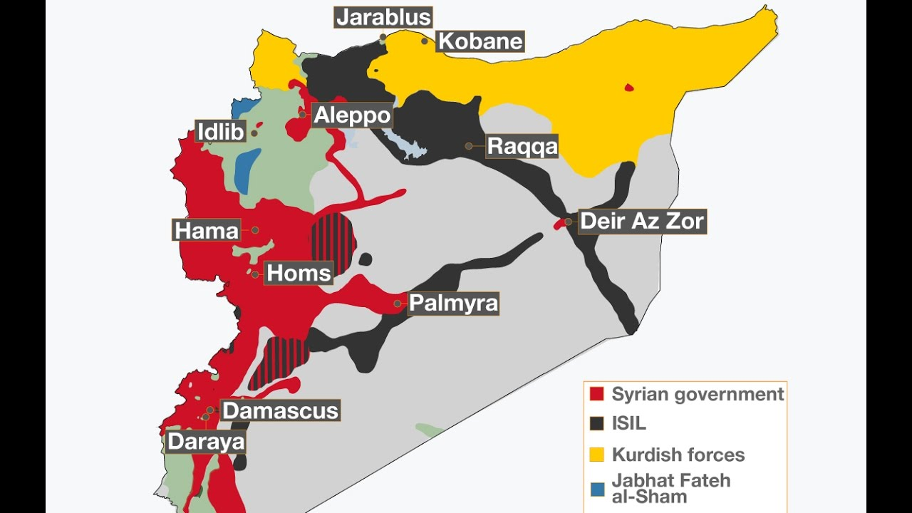 Syrian War Explained in Details   Complete Syria War Simple Explanation 2016 Full