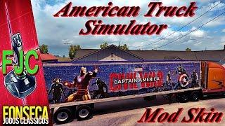 American Truck Simulator Capitão América Guerra Civil