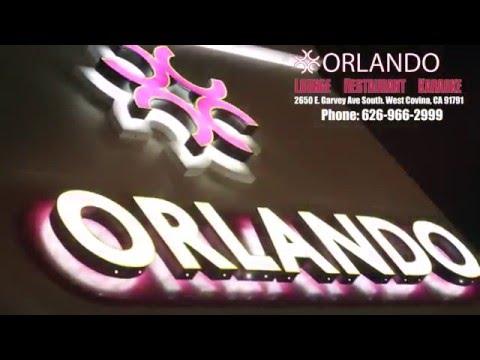 Orlando, in West Covina The best Lounge! Restaurant! Karaoke! in town