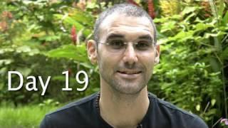 Day 19 Water Fast Vlog 2009 ~ Sinus', Hunger?, Appreciation