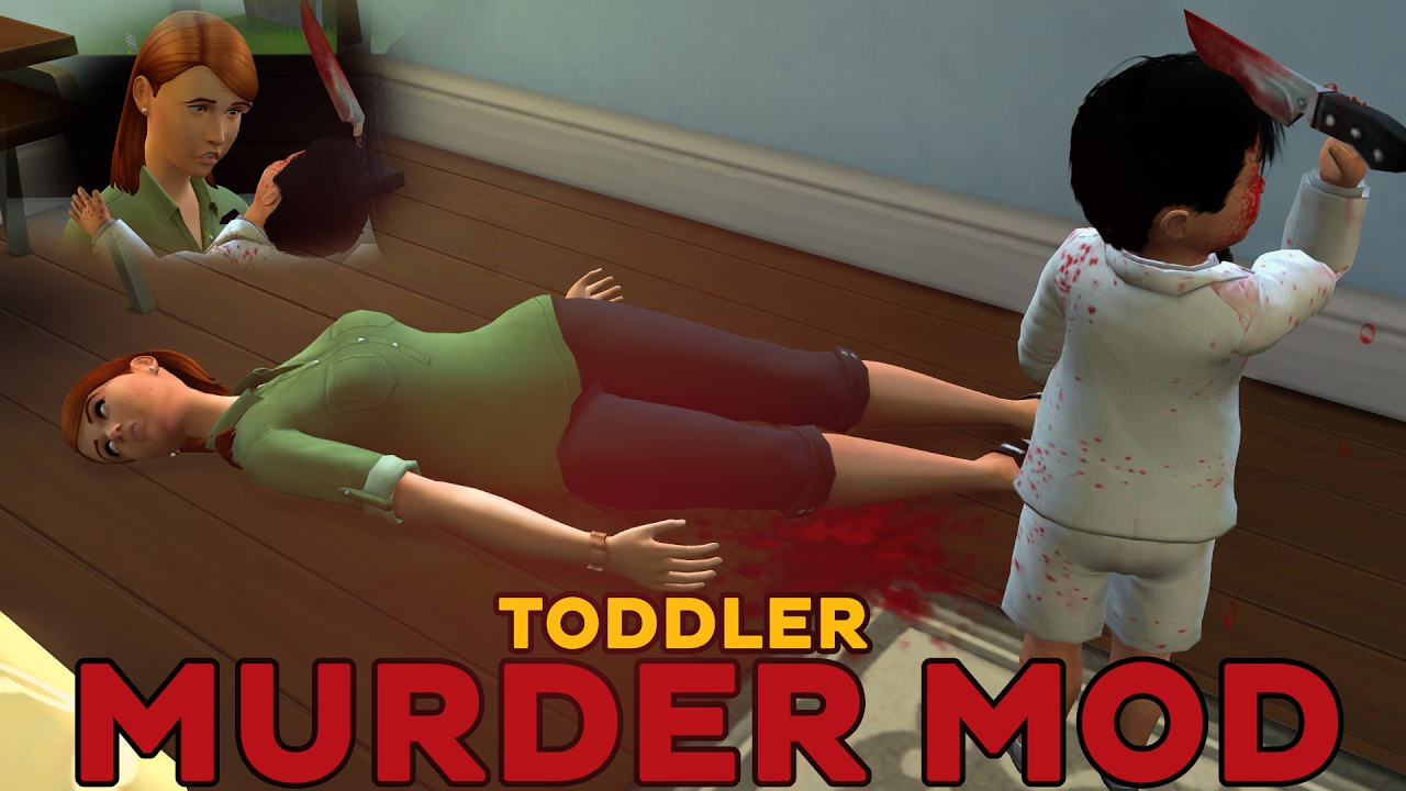 The Sims 4 Deadly Toddler Mod | The Sims 4 Toddler Murder Mod | Mod  Spotlight | The Sims 4 Toddlers